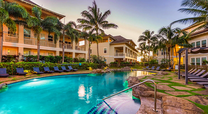 hotels in koloa kauai villas at poipu kai koloa hawaii vacation rentals
