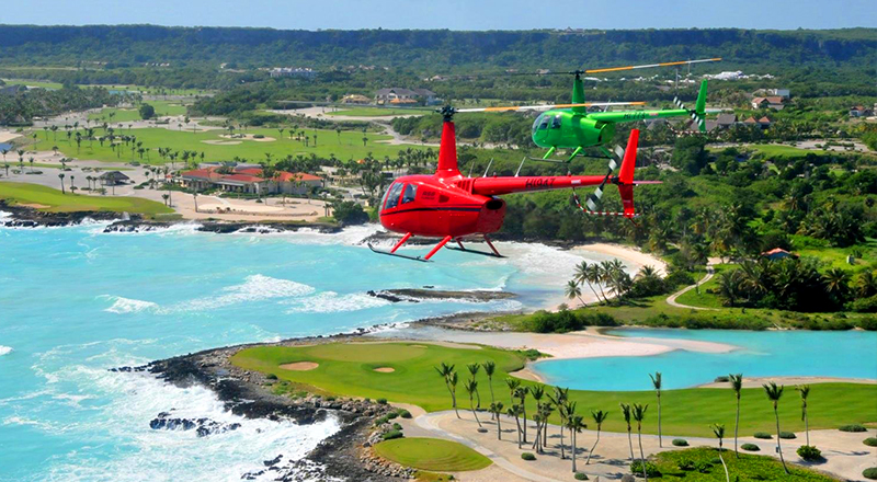 things to do in punta cana dominican republic helicopter tour aerial adventure