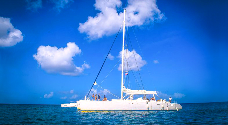 =dominican republic small group sailing and snorkeling catamaran tour