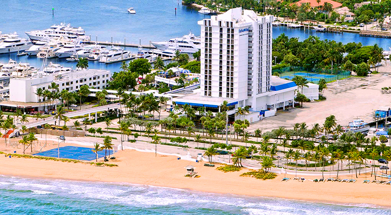 top florida spring break hotels bahia mar fort lauderdale beach doubletree by hilton hotel