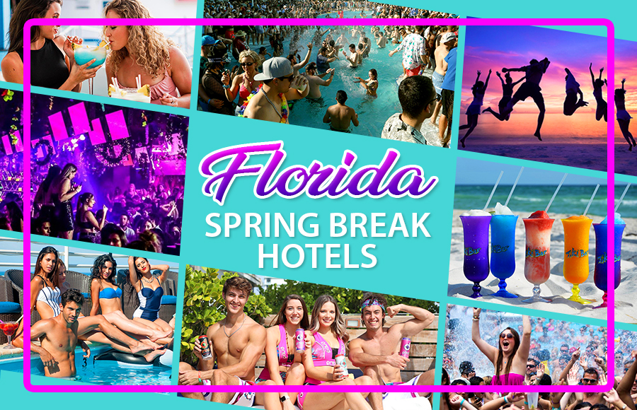 best florida spring break hotels party vacation ideas