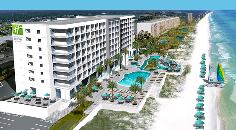 top florida spring break hotels holiday inn suites panama city beach vacation