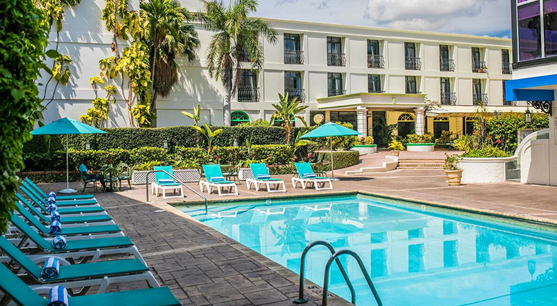 hotels in kingston jamaica knutsford court hotel tropical travel