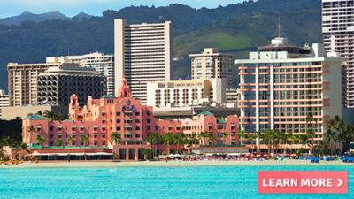 royal hawaiian hawaii beachfront hotel