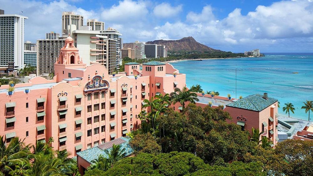 royal hawaiian hawaii historic hotel
