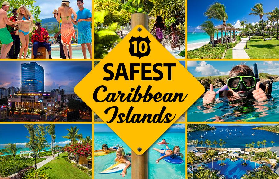 safest caribbean islands west indies vacation crime ideas