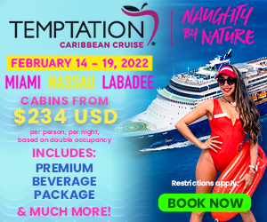 temptation cruise 2022 adult only vacation deals
