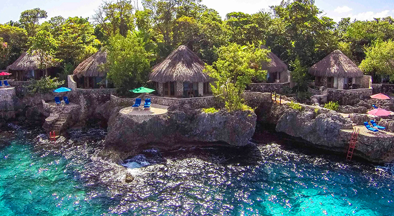 best weed-friendly hotels in jamaica rockhouse negril boutique stay