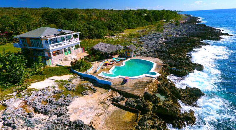 cheap weed-friendly hotels in jamaica somewhere west negril 420 escape