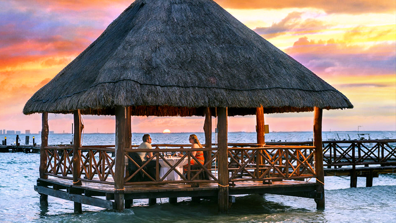 romantic couples-only hotels in the caribbean isla mujeres palace mexico all inclusive escape