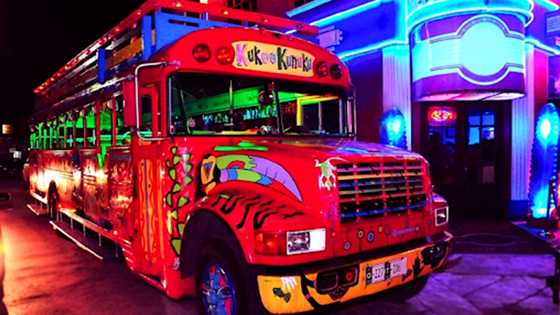 fun things to do in oranjestad aruba happy kukoo hour party bus tour