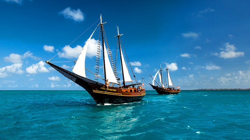 top things to do in oranjestad aruba aruba jolly pirate afternoon sail and snorkel cruise boat tourism