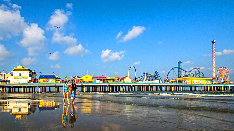 best american islands for a tropical vacation galveston island texas pier tourist attraction