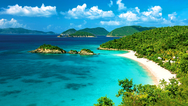 best american islands for a tropical vacation us virgin islands caribbean beach getaway