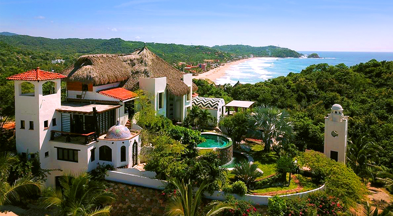 best clothing-optional hotels in mexico heven zipolite intimate boutique retreat