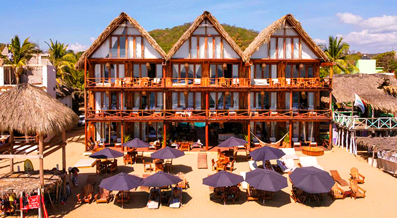 clothing-optional hotels in mexico naked zipolite au naturel beach vacation