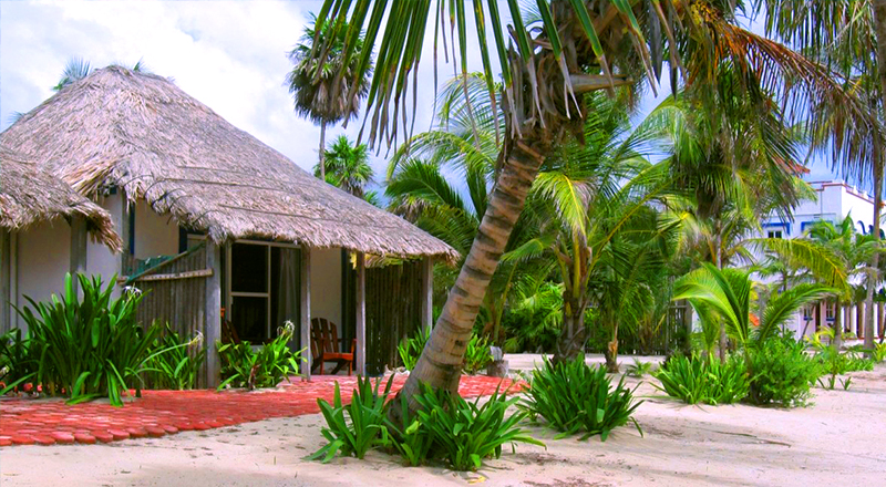 best clothing-optional hotels in mexico playa sonrisa xcalak caribbean beach escape