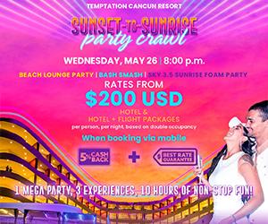 temptation sunset to sunrise best cancun travel deals