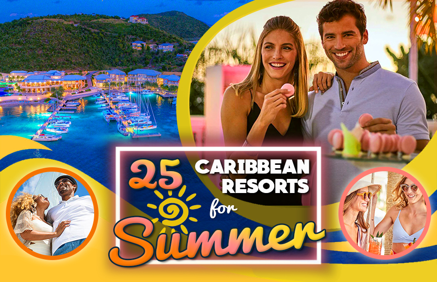 caribbean resorts for summer travel tourism tips