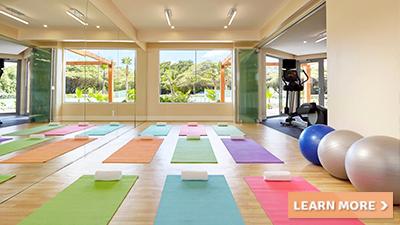 courtyard aruba resort yoga studio