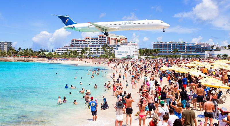 saint martin gay beach travel