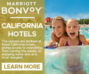 marriott california hotels family vacation deals
