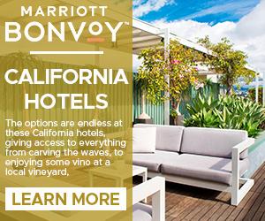 marriott california hotels travel destination deals