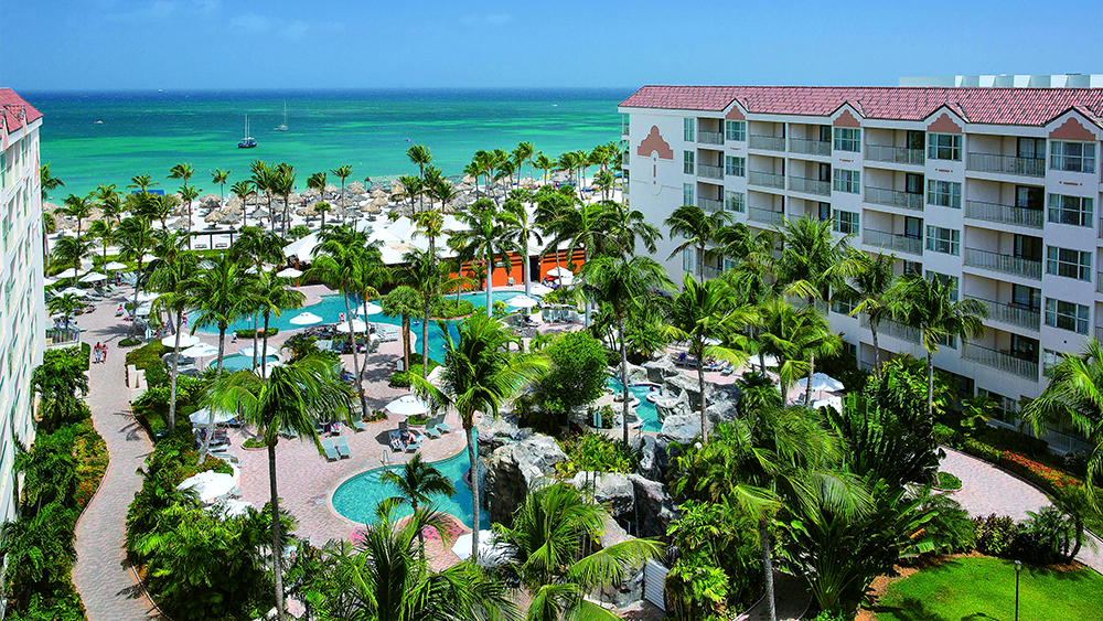 marriott's aruba ocean club tropical travel