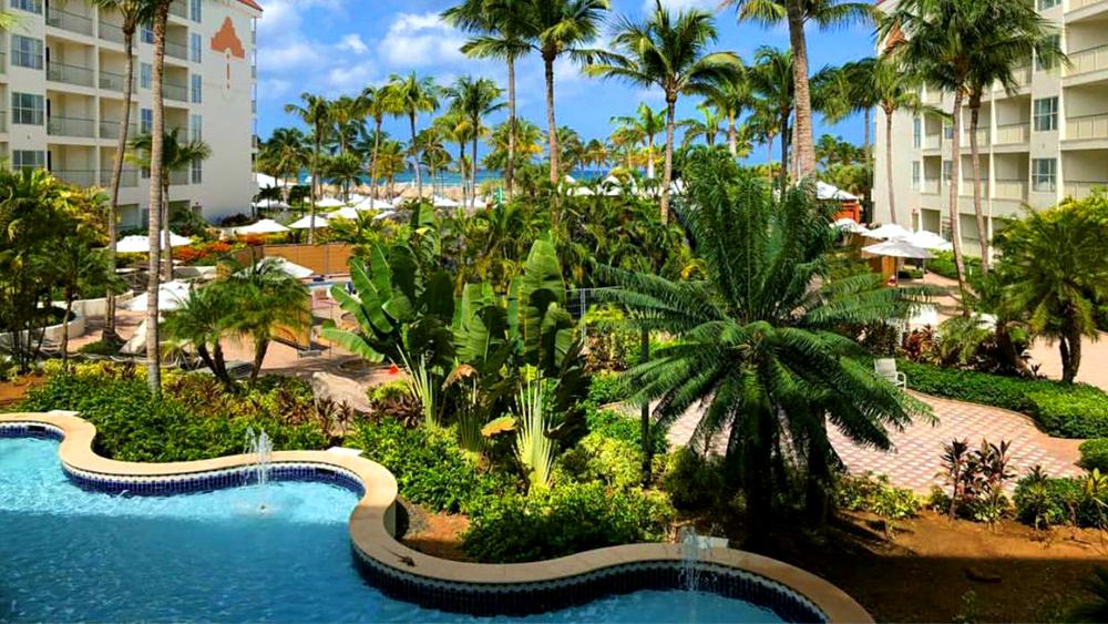 marriott's aruba ocean club tropical getaway