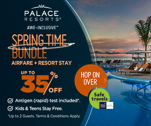 palace resorts spring time bundle best vacation deals