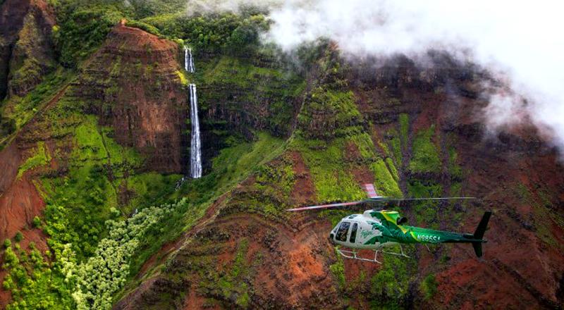 deluxe waterfall safari kauai