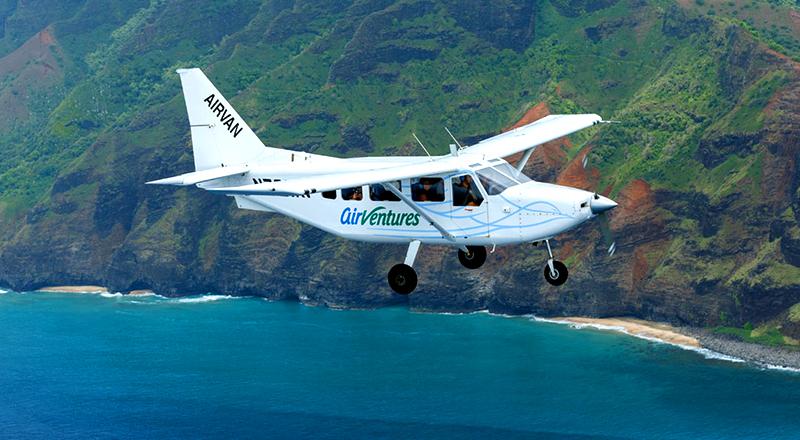 entire kauai island air tour