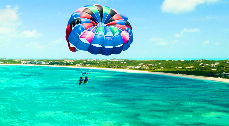 top things to do in providenciales turks and caicos islands parasailing adventure fun our