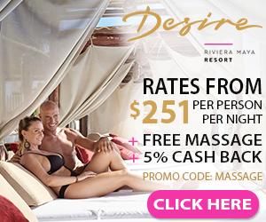 desire riviera maya mexico clothing optional travel deals