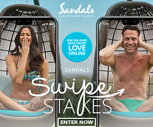 sandals swipes stakes best vacation contest deals