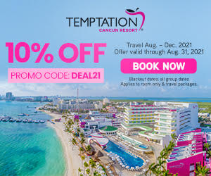 temptation cancun resort mexico party vacation deals