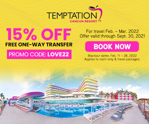 temptation cancun resort caribbean adult travel deals