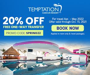 temptation cancun resort caribbean party escape deals