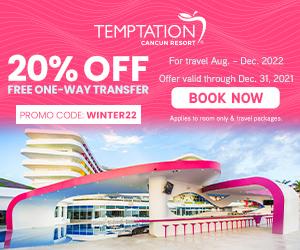 temptation cancun resort caribbean beach vacation deals