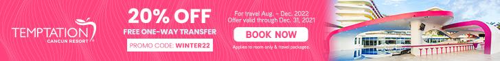 temptation cancun resort caribbean travel destination deals