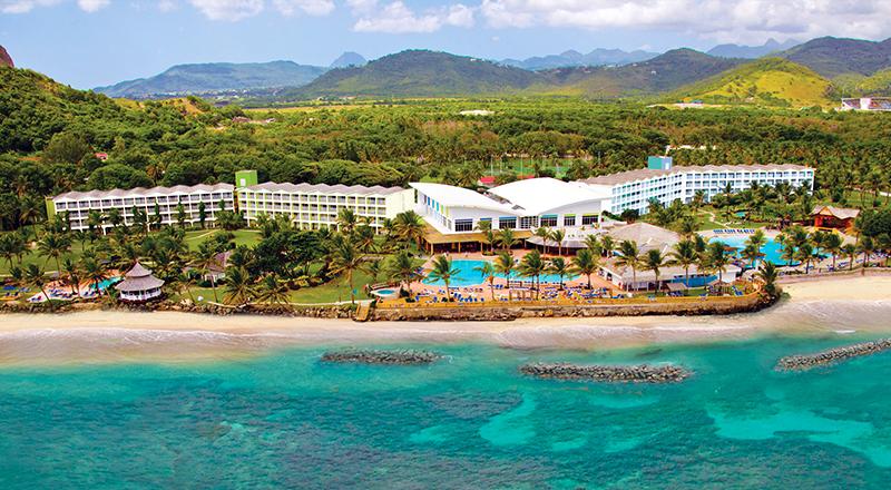 top caribbean resorts for single ladies coconut bay beach resort spa st lucia beachfront escape