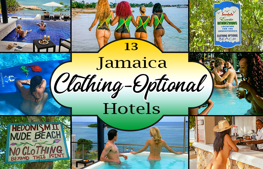 best clothing-optional hotels in jamaica nude vacation ideas