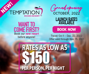 temptation miches resort grand opening dominican republic adult vacation